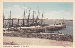 MORBIHAN  56  PORT LOUIS - LE QUAI - Port Louis