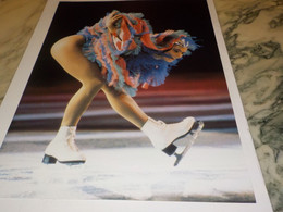 PHOTO KATARINA WITT TROPHEE LALIQUE 1987 - Skating (Figure)