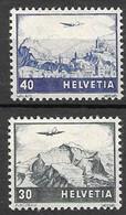 Switzerland Mnh ** Airmail Set 70 Euros 1948 - Nuovi