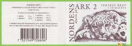 Voyo SWEDEN 1997 Inrikes Brev  Mi # MH229 (**) MINT MNH Booklet Snow Leopard - 1981-..