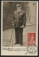 N° 472 1 Fr Rouge PETAIN Sur Carte Maximum De La Journée Du Timbre à Nice En 1941. - 1940-49