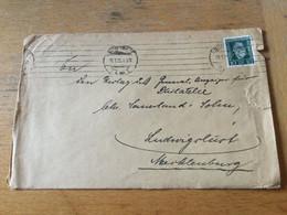 K15 Deutsches Reich 1925 Brief Von Stuttgart PERFIN! - Covers & Documents