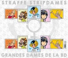 België Belgium 2021 - Straffe Stripdames / Women In Comic Strip - Comics (tintin : Castafiore; Yoko Tsuno; ...) - Nuevos