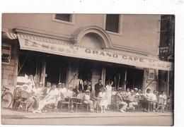 LE POULIGUEN -44- CARTE-PHOTO - Grand Café - Animation - Le Pouliguen
