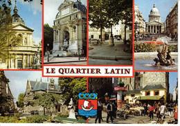 75 Paris Le Quartier Latin Sorbonne Place St Michel Furstenberg Rue Soufflot Panthéon N°2148 - Arrondissement: 05