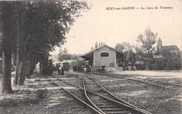 Scey Sur Saône - La Gare Du Tramway - Andere Gemeenten