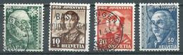 Suisse YT N°380/383 Pro Juventute 1942 Oblitéré ° - Used Stamps