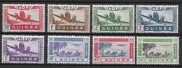 GUINEE 1942 YT PA 10/17** MNH - Nuovi