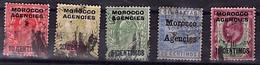 Lot D'occupation Du Maroc Anglais - Sonstige