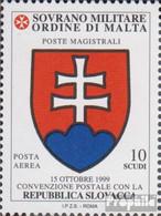 Malteserorden (SMOM) Kat-Nr.: 717 (kompl.Ausg.) Postfrisch 2000 Slowakei - Malte (Ordre De)