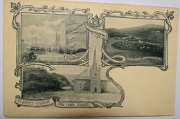 C. P. A. : ST HELENA : Boer Camp ( Broadbottom), Consing Works At Rupert's Valley, St James Church And Main Street - Saint Helena Island