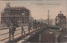 St-Quentin - Le Pont Du Bois Sur Le Canal - Saint Quentin