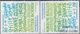 BRD 3561K (kompl.Ausg.) Kehrdruckpaar Postfrisch 2020 Umweltschutz Ist Gesundheitsschutz - Nuevos