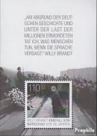 BRD Block87 (kompl.Ausg.) Postfrisch 2020 Willy Brandt - Kniefall Von Warscha - Nuevos