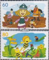 BRD 3576-3577 (kompl.Ausg.) Postfrisch 2020 Helden Der Kindheit - Wickie, Biene - Nuevos