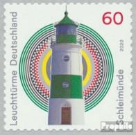 BRD 3555 (kompl.Ausg.) Postfrisch 2020 Leuchttürme - Schleimünde - Nuevos