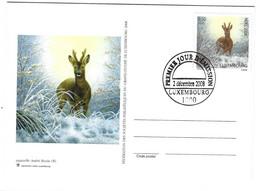 Luxembourg 2008 Noel Chevreuil ¦ Christmas Deer ¦ Weihnachten Reh - Briefe U. Dokumente