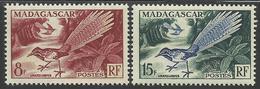 MADAGASCAR 1954 YT 323/324** - Otros
