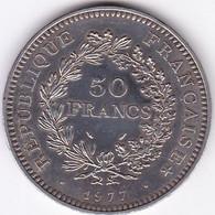 FRANCE MONNAIE DE 50 FRANCS HERCULE 1977 / ARGENT/ - M. 50 Franchi