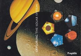 USA Block56 (kompl.Ausg.) Postfrisch 2000 Erforschung Der Sonne - Unused Stamps