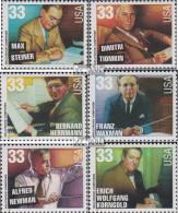 USA 3165-3170 (kompl.Ausg.) Postfrisch 1999 Musikgeschichte - Filmmusikkomponis - Unused Stamps