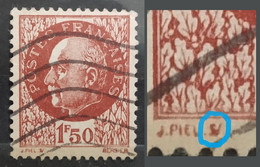 France (Marshal Petain) 1.50f. Error: Some Part Of The Text Found Collapsed At Lower Side (Used) - Autres