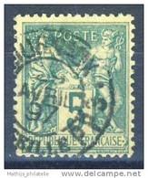 D - [DEL-307-9]TB//-N° 75 Obl Marseille Journeaux PP3 TB Cote 20 Euros - 1876-1898 Sage (Tipo II)