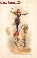 SOUVENIR FROM THE BARNUM § BAILEY CIRQUE CIRCUS AUS DEM CIRCUS AQUARELI FRÄNEL MÜNCHEN ATTRACTION CHEVAL - Circo