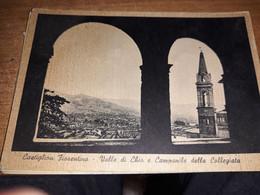CARTOLINA CASTIGLIONE FIORENTINO CAMPANILE DELLA COLLEGIATA - Firenze