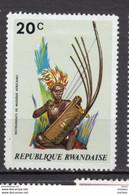 Rwanda, Instrument De Musique, Music Instrument, Sc 515, Costume, Culture - Música