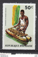 Rwanda, Instrument De Musique, Music Instrument, Xylophone, Bois, Wood - Música