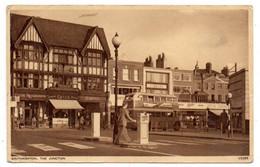 UK--SOUTHAMPTON --1955--The Junction (animée, Commerces,bus)...timbre....cachet......à Saisir - Southampton