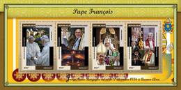 Central Africa 2017 Pope Francis, Pope Benedict XVI - Repubblica Centroafricana