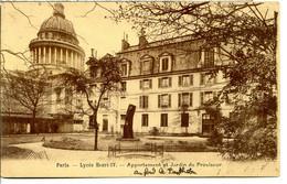 75005 PARIS - Lycée Henri IV - Appartement Et Jardin Du Proviseur - Joli Sépia Sur Chamois - Paris (05)