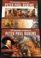 S.Tome&Principe 2015 - MNH (**) - Painting P.Rubens (M/S + S/S) (volt_ - Rubens