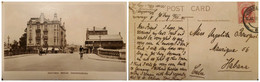 O) 1911 NATAL, SOUTH AFRICA, KING EDWARD VII, PRETORIA BRIDGE JOHANNESBURG, POSTAL CARD XF - Autres