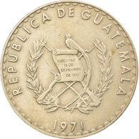 Monnaie, Guatemala, 25 Centavos, 1971, TTB, Copper-nickel, KM:272 - Guatemala