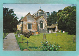 Small Postcard Of Stoke Poges Church, Buckinghamshire,,Y123. - Buckinghamshire