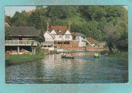Small Postcard Of River Wey At Guildford, Surrey,England,Y123. - Surrey
