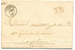 SEINE ET MARNE LAC 1842 DAMMARTIN T15 EN PP - 1801-1848: Voorlopers XIX