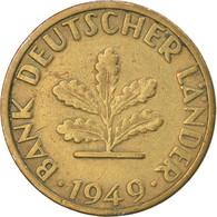 Monnaie, République Fédérale Allemande, 5 Pfennig, 1949, Stuttgart, TTB - 5 Pfennig