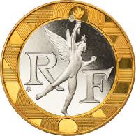 Monnaie, France, Génie, 10 Francs, 1999, Paris, Proof, FDC, Bi-Metallic - K. 10 Franchi