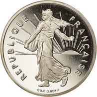 Monnaie, France, Semeuse, 1/2 Franc, 1999, Paris, Proof, FDC, Nickel - G. 50 Centesimi