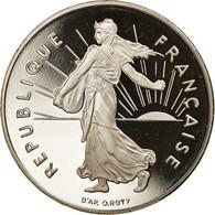 Monnaie, France, Semeuse, Franc, 1999, Paris, Proof, FDC, Nickel, Gadoury:474a - H. 1 Franco