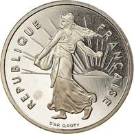 Monnaie, France, Semeuse, 1/2 Franc, 2001, Paris, Proof, FDC, Nickel - G. 50 Centesimi
