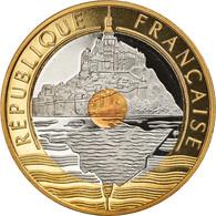 Monnaie, France, Mont Saint Michel, 20 Francs, 2001, Paris, Proof, FDC - L. 20 Franchi