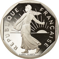 Monnaie, France, Semeuse, 2 Francs, 1999, Paris, Proof, FDC, Nickel - I. 2 Francs