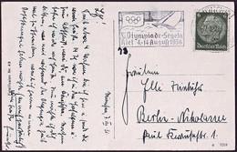 Germany - 1936 P - Olympic Games 1936 - Postcard - Summer 1936: Berlin