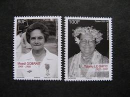 Polynésie: TB Paire N° 1238 Et N° 1239, Neufs XX. - Unused Stamps