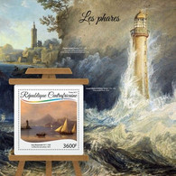 Central Africa 2017 Paintings Of Lighthouses - Repubblica Centroafricana